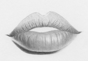 how to draw lips 10