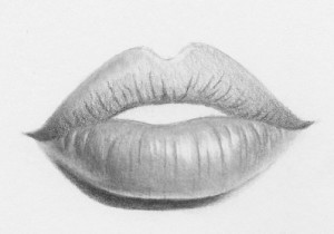 how to draw easy lips 11