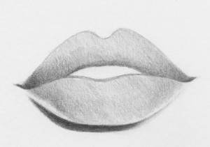 How to draw sexy lips