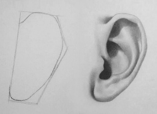 How to draw an ear 5 easy steps rapidfireart thumbnail ear 324x235 ccuart Gallery