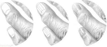 How To Draw Fingernails On A Hand 4