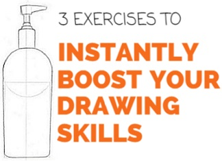 3 exercises to improve your drawing skills | RapidFireArt
