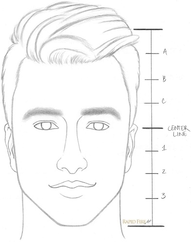 Learn How To Draw A Face In 8 Easy Steps Beginners | RapidFireArt