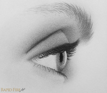 How To Draw Eyes From The Side 10 Steps Rapidfireart