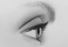how to draw an eye from the side thumbnail 324x235