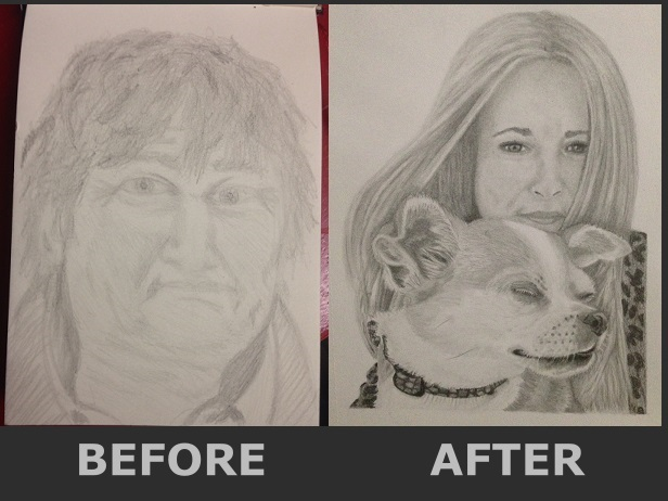 Linda Bennett Before and After