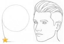 how to draw a female face 3 4 view