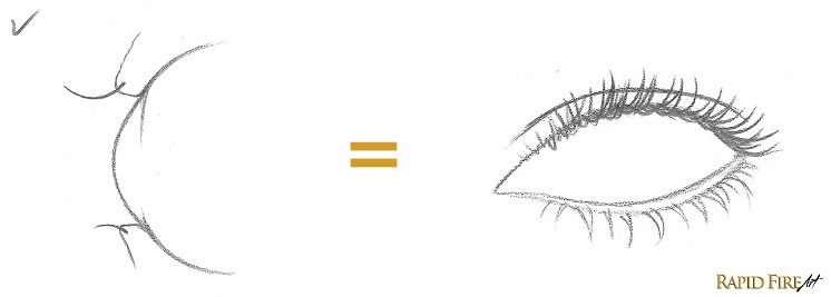 how to draw eyebrows correctly
