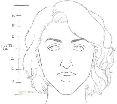 How To Draw A Face Female