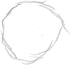 How to sketch a circle 1