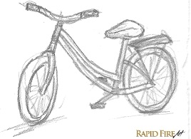 sketching for beginners _ bike example 2
