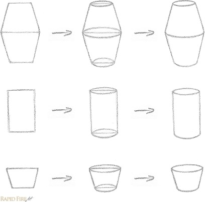 How to Draw Cylindrical Objects