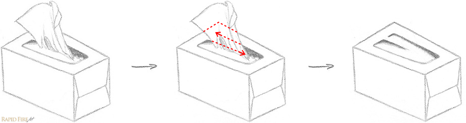 How to critique your own artwork _ Example 3_Tissue Box Answer RFA