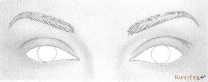 900540ebc5a Do the opposite for the top portion of each eyebrow. Angle your strokes  downward and use lighter strokes near the end of each eyebrow.