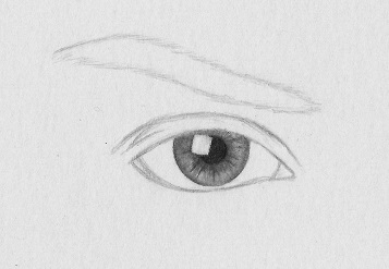 How To Draw A Realistic Eye 9 Steps Rapidfireart