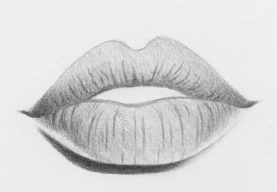 How To Draw Lips With