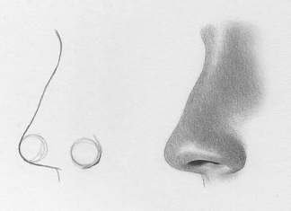 How To Draw A Nose 7 Simple Steps Rapidfireart
