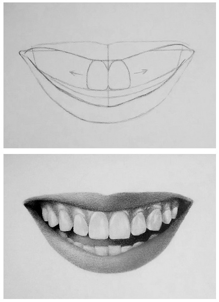 Image Gallery smile drawing