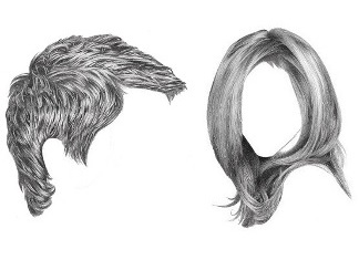how to draw detailed anime hair