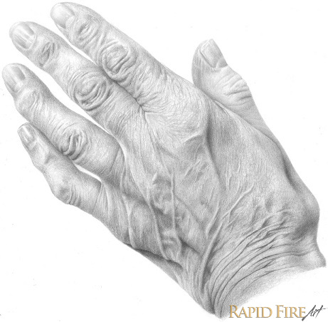 how to draw hands old 2