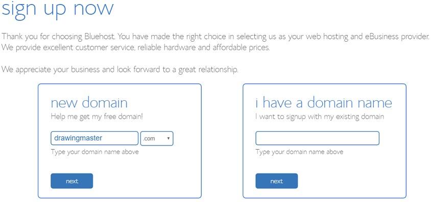 how-to-create-an-art-website_-bluehost-free-domain-rfa