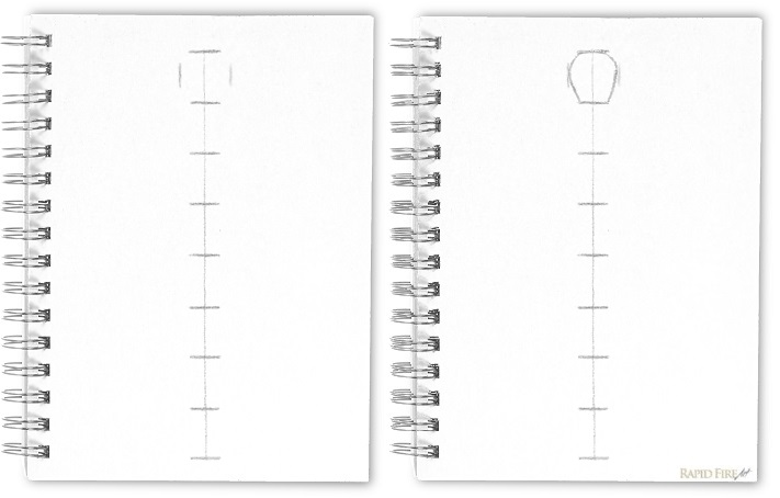 How to draw with accurate proportions _ Transfer onto paper 2