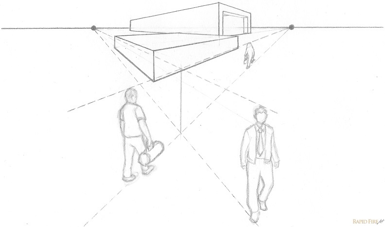 two point perspective worksheets pdf