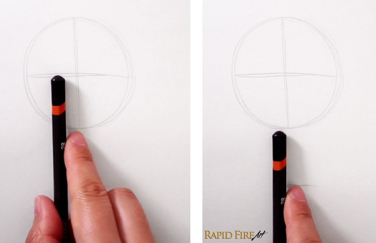 Easy D Line Drawings : How to draw faces for beginners u2013 simple rapidfireart