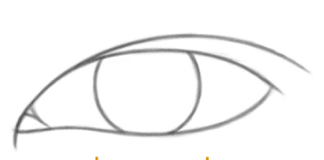 how to draw Asian Eyes