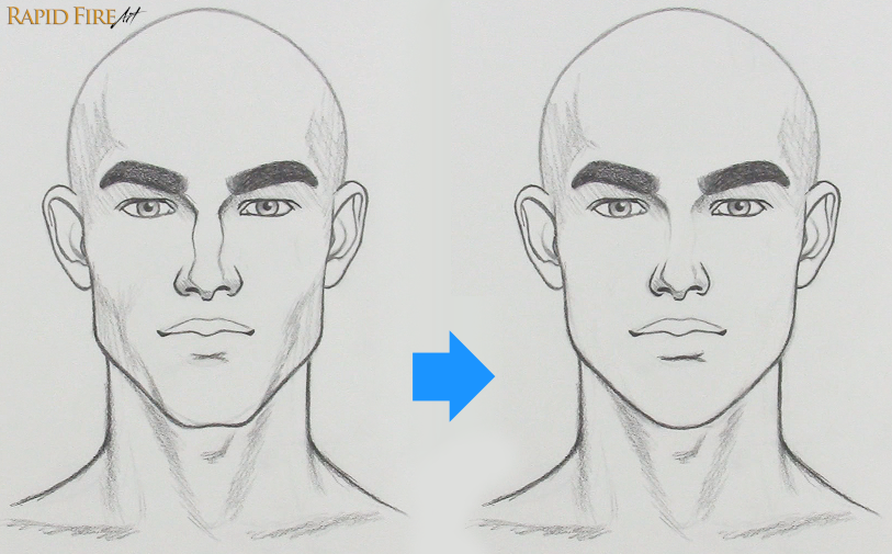 RFA How to fix a drawing that looks too Masculine