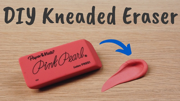 How to Make a Kneaded Eraser