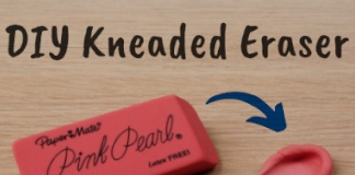 How to Make a DIY Kneaded Eraser